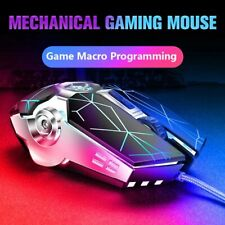 Wired Gaming Mouse 8D 3200DPI Adjustable Optical Mice USB For Laptop/Desktop/PC