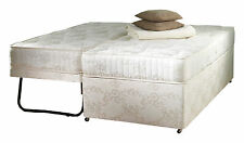 Sprung De Luxe 90cm 3ft Single Guest + trundle guest Bed or with Headboard