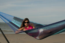 New Handowoven Mayan Mexican Cotton Double Hammock