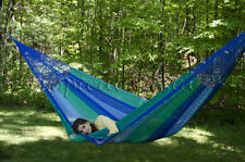 New UNIQUE Cotton Mayan Mexican Yucatan Family Hammock