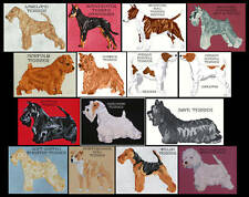 TERRIER (L - Z) COUNTED CROSS STITCH PATTERNS