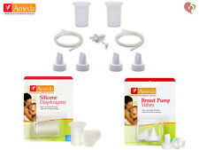 AMEDA BREAST PUMP HYGIENIKIT WHITE VALVES SILICONE DIAPHRAGMS SPARE PARTS KIT