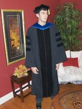 Doctoral Fluted Graduation Gown