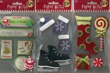 PAPER BLISS STICKERS 3D Choice Christmas Baby & more
