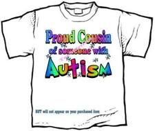 T-shirt - Autism Awareness PROUD COUSIN, niece nephew