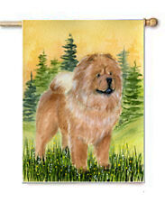 CHOW CHOW STANDING FLAG/AVAIL GARDEN OR HOUSE SIZE