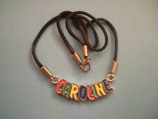 Personalised Necklace - Multicoloured - Names J to K