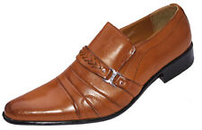 BRAND NEW FASHION BROWN DESIGNER MEN'SCASUAL  SHOES