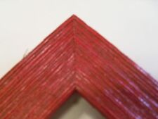 """1.5"""" Wide Rustic Red Barnwood Picture Frame-Panoramic"""
