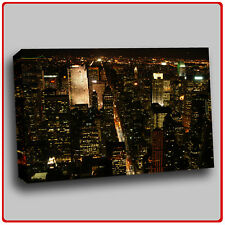 Modern Canvas Art Print New york at night