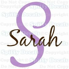 PERSONALIZED MONOGRAM NAME Vinyl Wall Decal Sticker