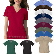 Dickies SHIRTS MEDICAL SCRUB YOUTILITY V-NECK TOPS Junoir Fit Uniform TOP 817455