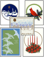 CHRISTMAS Cards HANDMADE SILKSCREENED in VERMONT 5 Designs Choose FREE SHIPPING