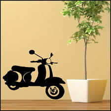 MOD MODS SCOOTER LARGE KITCHEN BEDROOM WALL MURAL GIANT ART STICKER  MATT VINYL