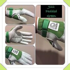 Owen Handball Gloves 922 Padded Green/White Indoor/Outdoor One Wall 3/4 Wall