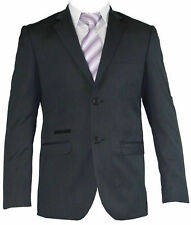 Mens Suit 2 Piece Two Button Top Quality Formal Sheen Wedding Party Groom Suit