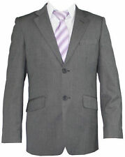 Mens Suit 2 Piece One Button Top Quality Formal Sheen Wedding Party Groom Suit