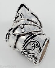 Battle Ready Medieval Knight Armor Sexy Ring Gold or Silver Tone