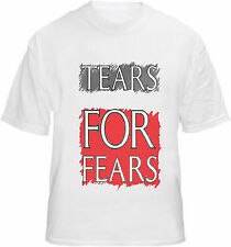 Tears For Fears T-shirt Retro 80's Album Promo Print Tee