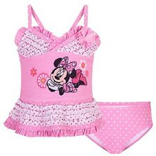 DeLuXe~MiNNiE MoUsE~2pc SWIM SUIT~2T to 5T~Tankini~PiNk~Sparkle~NWT~Disney Store