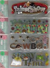 Jolee's Boutique TITLE WAVES Assorted STICKERS 3D Choice SCRAPBOOKING Phrases