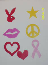 100 PC TANNING BED STICKERS SCRAPBOOK & CRAFTS CHOICE