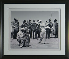 Ben Hogan 1940 at Pinhurst Framed Golf Photo 11 x 14