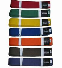 Martial Arts Belt, Karate, Taekwondo, Judo,Jiu jitsu,Color Belts Thread(R) Brand