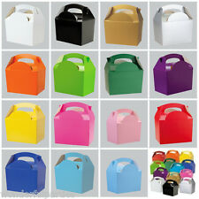 10x Kids Party bags Childrens Birthday Parties Wedding Favors Cake Food Boxes