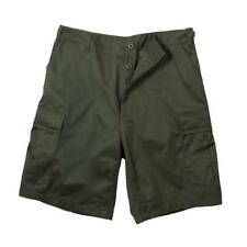 Olive Drab Military Style BDU Shorts