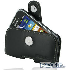 PDair Leather Case for Samsung Galaxy Pocket GT-S5300 (P01 Pouch With Clip)