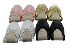 GROSBY JIFFIES WOMENS LADIES BALLET DANCE FLAT NEW SHOES FLATS - ALL COLOURS !