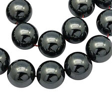 Premium Quality Shamballa Hematite Beads-Various Sizes-Hole 1.5mm+ ~ lady-muck1
