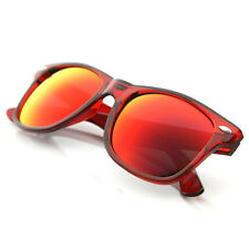 Rave Crazy Candy Color See-Through Frame Revo Mirror Lens Shades Sunglasses 8560