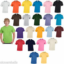 50 PLAIN 100% COTTON T SHIRTS WORLDS NO 1 24 COLS S-XXL