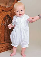 David Christening Outfit for Blessing or Baptism - 100% Cotton