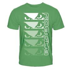 "BAD BOY ""FADE OUT EYES"" BRAND NEW GREEN YOUTH/KIDS MMA T-SHIRT"