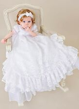 Lucy Christening Gown, Baptism, or Blessing Gown Made in the USA