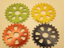 COYOTE COLOURED 25T ALLOY BMX CHAINRING