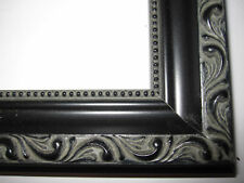 Black Victorian Ornate Wood Picture Frames-Custom Made Panoramic Sizes