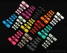 Selections of Mixed Colors Toe Nails (Whole Nails) in Fish Bone Style