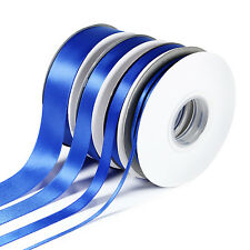 3mm 10mm 15mm 25mm DOUBLE SIDED SATIN RIBBON Various Colours