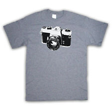 VINTAGE SLR CAMERA PRINT PHOTOGRAPHY FASHION KIDS T SHIRT ALL COLOURS AND SIZES
