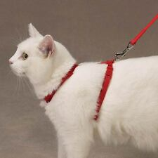 """Savvy Tabby Nylon Cat Harnesses 3/8""""W Cat Harnesses adjust to fit chests 12""""-16"""""""