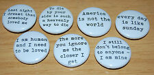 MORRISSEY/THE SMITHS 25MM BUTTON BADGE LYRICS/QUOTES
