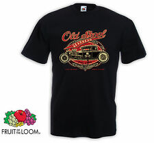 T-Shirt Hot Rod Old Skool V8 Chevy VW BMW Dodge Rockabilly Tattoo Pinup Rat Rod