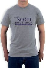 Keith Scott body shop service and repair T-Shirt one tree hill auto Lucas