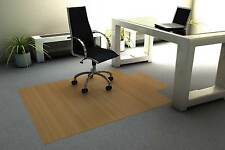Bamboo Chair Mats with Lip