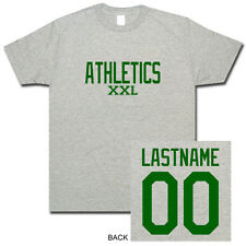 Athletics A's Custom Name & Number Baseball T-Shirt Oakland Personalized S-XL