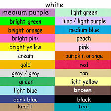 4x6 or 5x8 Index Cards Color Cardstock Blank Plain Unruled Colored Card Stock